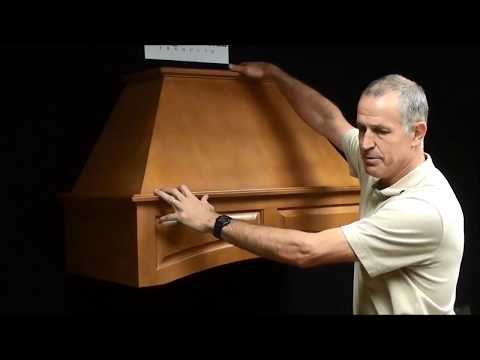 Omega National Wood Hoods Installation Video by KitchenSource.com
