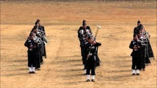 Pipe Band & Khukri Display 1/3 GR 24 Apr 2015