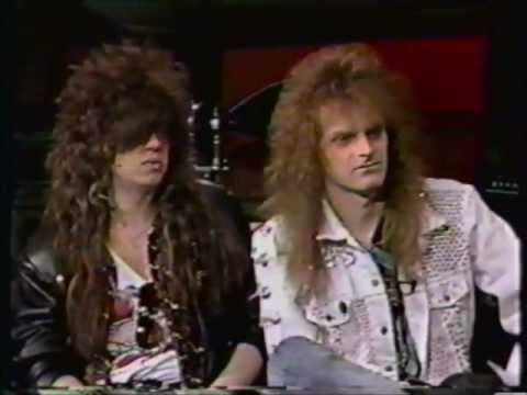 Celtic Frost interview - MTV Headbanger's Ball - 1989