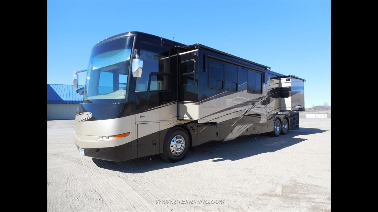 Used 2007 Newmar Mountain Aire 4521 Luxury Diesel Pusher Motorhome
