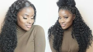 One of Breeny Lee's most viewed videos: No Glue, No Tape, No Leave Out | FLAWLESS Lace Frontal Installation + 6 Ways To Style It | Zee.Elle