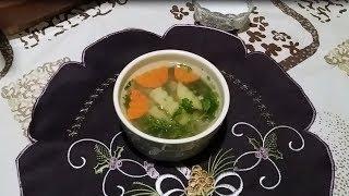 Детский суп с гречкой видео рецепт