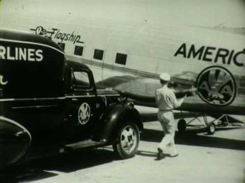 F 2238 American Airlines Curtiss Condor, Trimotor, Douglas DC-3