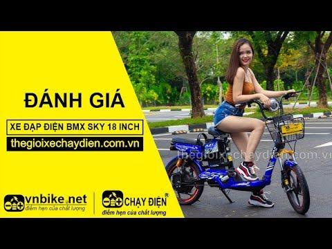 Đánh giá xe đạp điện Bmx Sky 18 inch