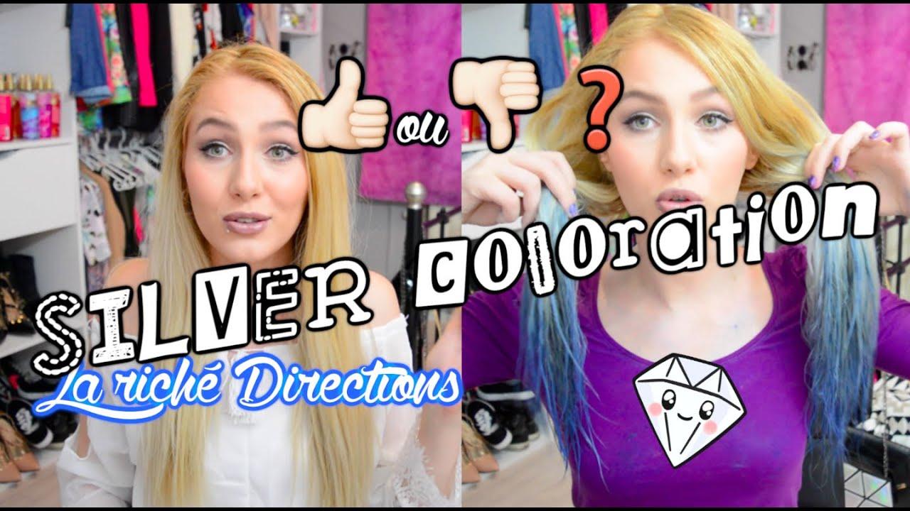 test silver coloration la rich directions - Coloration La Rich