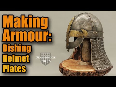 How to make Armor: Making Medieval Armor: Forming Helmet Plates Real Time