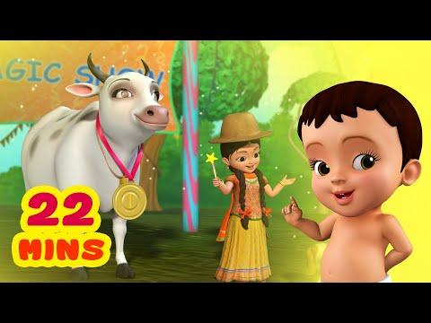 Download Gaay Kehti Hai - Domestic Animal Sounds Song | Hindi Rhymes for Children | Infobells