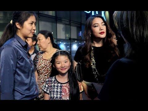 Trương Ngọc Ánh dắt con gái đến mừng chồng cũ Trần Bảo Sơn