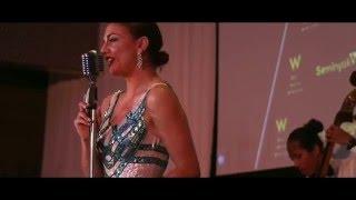 Eva Scolaro Singing @ W Retreat & Spa Bali Annual Gala 2015