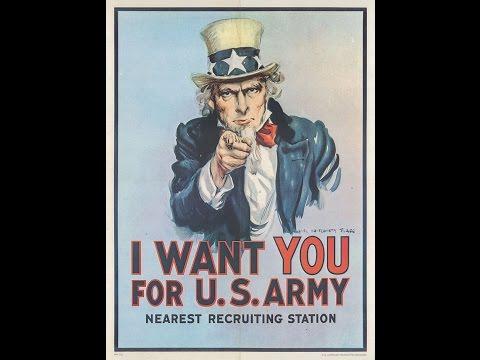 Historical Recruiting Posters and Propaganda - World War I