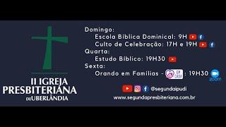 Culto de Celebração - 06/09/2020 - Pr. Honório Jr. (17H)