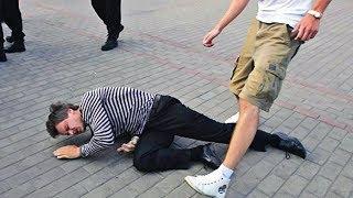Куда бить ногами в уличной драке / Почему нельзя бить в голову