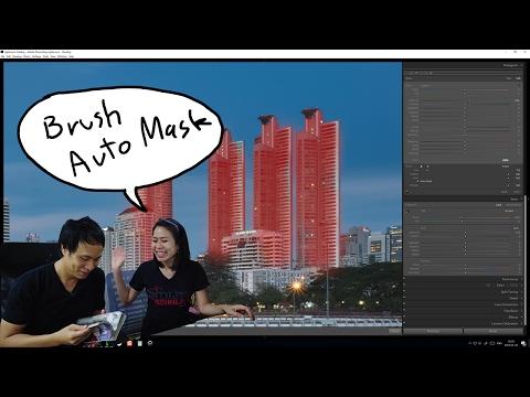 Tip ถ่ายรูป146 Lightroom วิธีใช้ Brush Auto Mark สำหรับภาพ Cityscape - วันที่ 08 Feb 2017