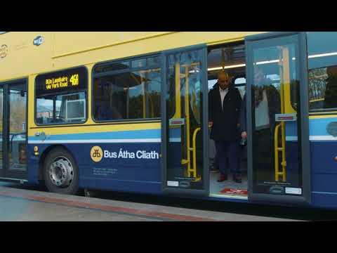 Dublin Bus Getting off the Bus Social Media