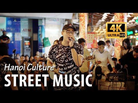 Enjoy Vietnamese music in Old Quarter of Hanoi weekend night