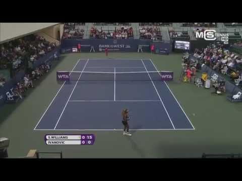 Serena Williams Vs Ana Ivanovic, Stanford Classic 2014 (1/4 Finale), Highlights HD