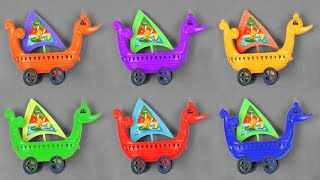 Boats for Kids with Blippi | Learn Numbers with Toy Cars - Kids Song Johny Johny Yes Papa Rhymes