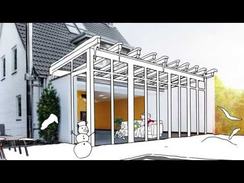 solarlux wintergarten youtube. Black Bedroom Furniture Sets. Home Design Ideas