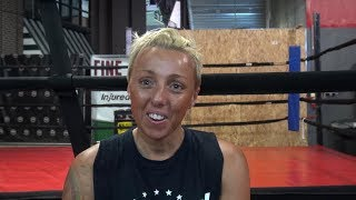 Meet the Mayweather Boxing Club: Kylie Fulmer- Australian lady boxer