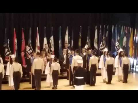 Southeast Academy 2017 Exchanging of the Guidon