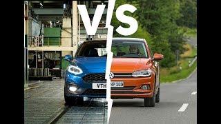 Ford Fiesta vs. Volkswagen Polo | Segmento B a confronto