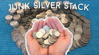 Full Junk Silver Stack