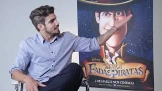 Tinker Bell: Fadas e Piratas   Caio Castro fala sobre sua participação no filme