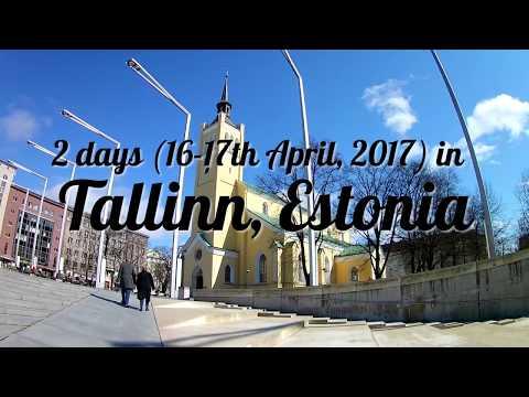 2 days in Tallinn, Estonia (16th & 17th April 2017)