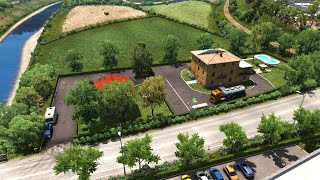 [ETS2 v1.38] House in Italy with garage, parking, service and fuel