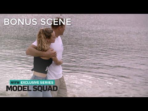 Hannah Ferguson & BF Enjoy Romantic Walk After Hurricane Clean-Up   Model Squad   E!