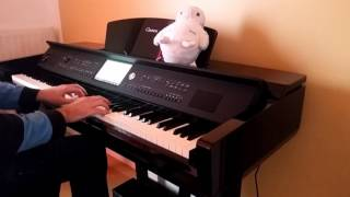 The Avener, Kadebostany - Castle In The Snow (piano cover) [HD]