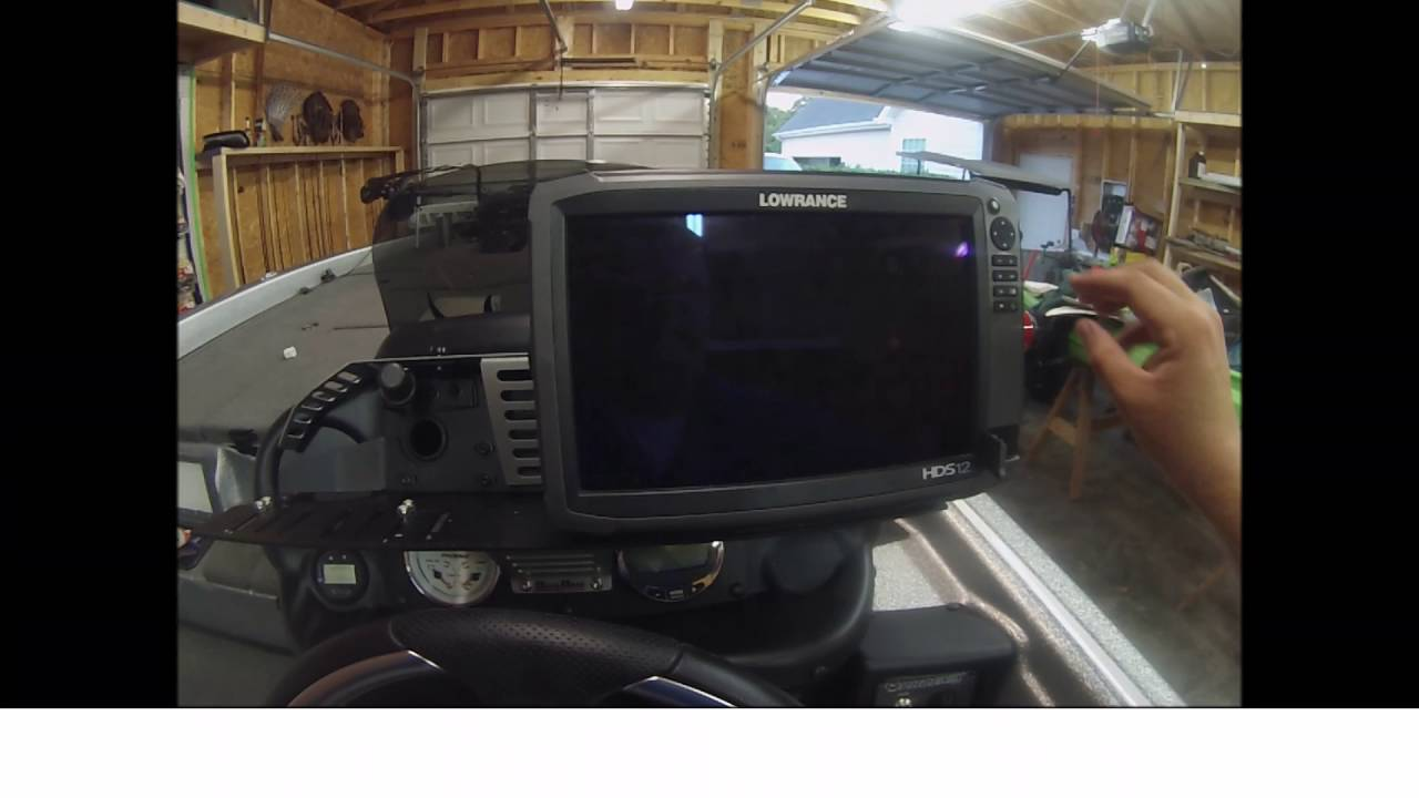 Lowrance HDS how to: Hard and soft reset