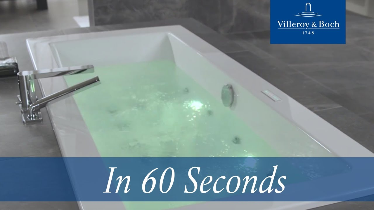 In 60 Seconds: Whirlpools 2.0 | Villeroy & Boch - YouTube