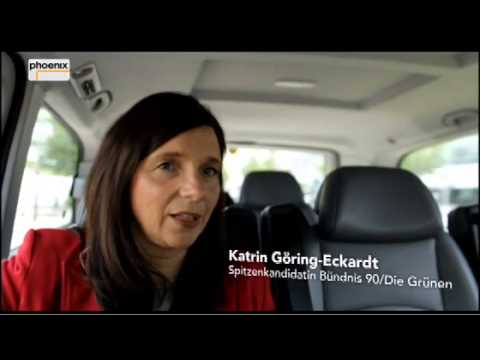 Katrin Göring-Eckardt im Taxi Berlin 04.09.13