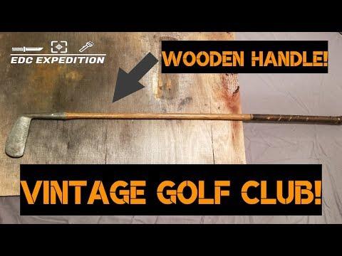 Vintage Golf Club Restoration