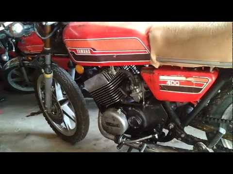 1976 Yamaha RD 400 for sale 1500 - YouTube