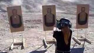 McKenzie - 11yo Girl at Shooting Range #1 of #3