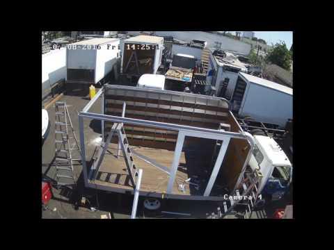 Truck Body Refurbishment Process
