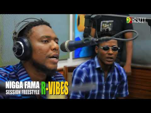 Nigga Fama - Session Freestyle sur R-Vibes