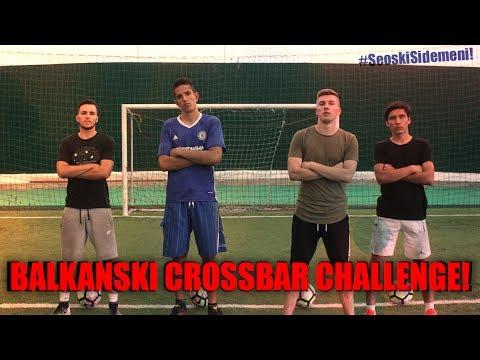 BALKANSKI CROSSBAR CHALLENGE w/ Djota,Sekula,Veki