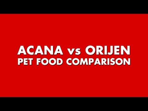 Acana vs Orijen Pet Food Comparison