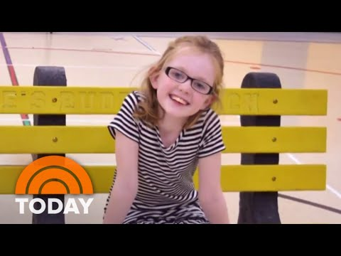 """Everyone Has A Story"" Honors Woman Who Helped Put 'Buddy Benches' In School 