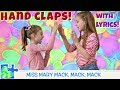 RHYMES AND HAND CLAPS! Miss Mary Mack || Lemonade || Double Double This This (HD with LYRICS)