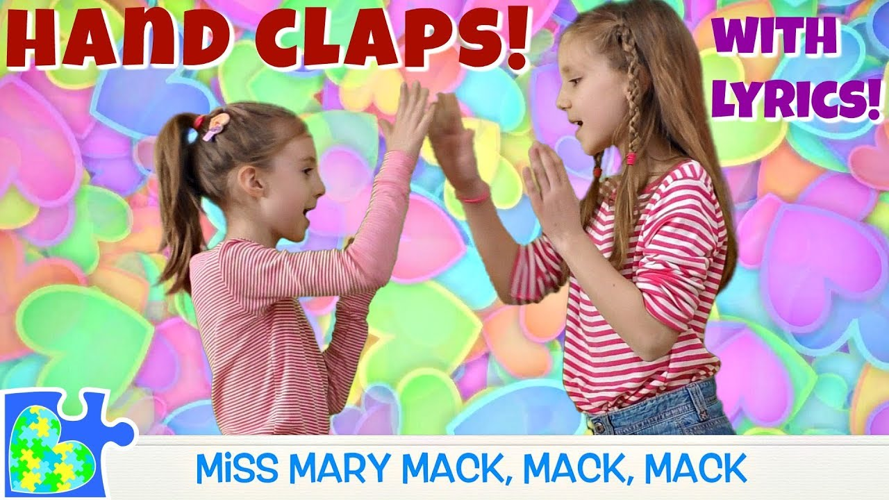 Rhymes And Hand Claps Miss Mary Mack Lemonade Double Double This This Hd With Lyrics Youtube Can make your hands clap bet i can make your hands clap so can i get a hand clap? rhymes and hand claps miss mary mack lemonade double double this this hd with lyrics