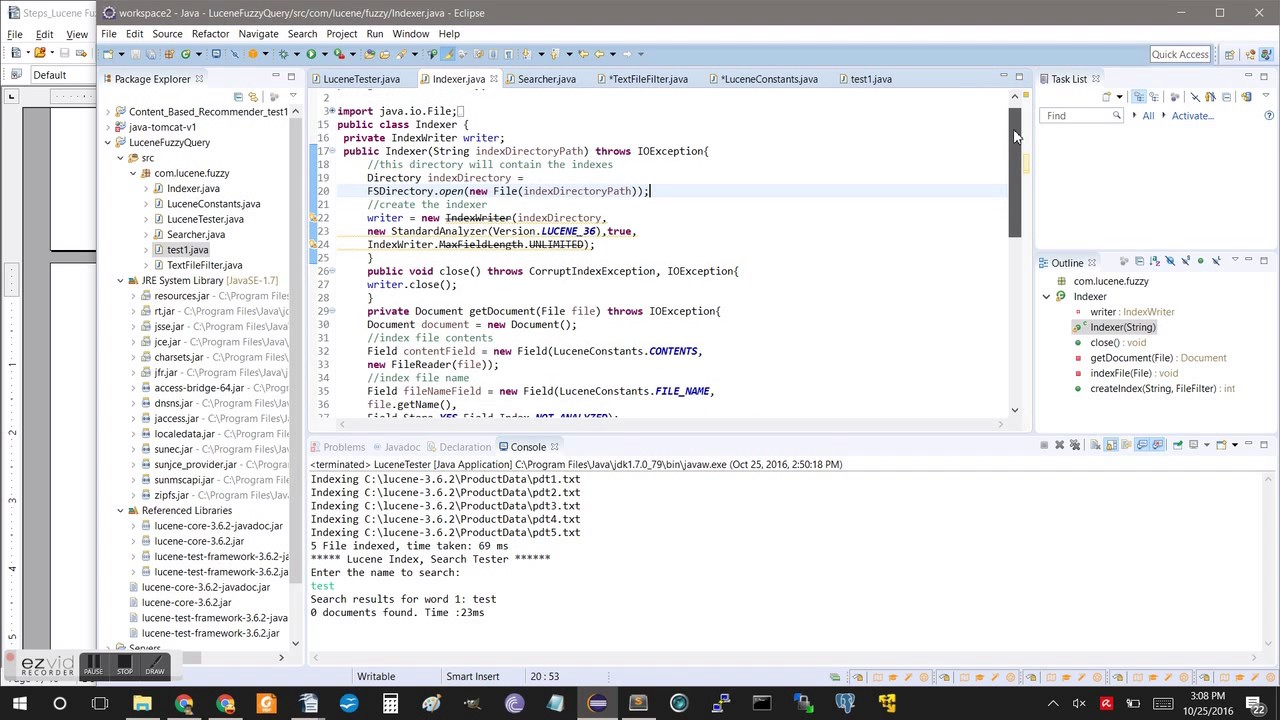Lucene java application tutorial 1 youtube lucene java application tutorial 1 baditri Gallery