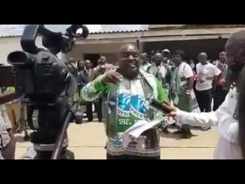 PF Luapula Province Secretary calling on Harry Kalaba o resign as MP