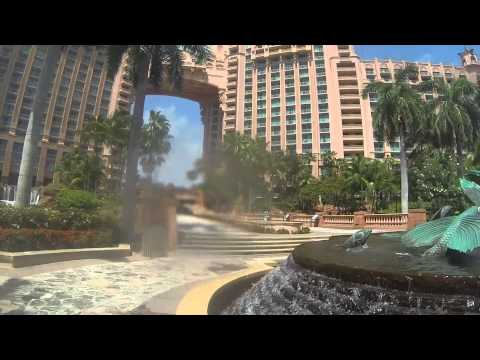 Harborside to Royal Tower Pools to Marina Village Walking To