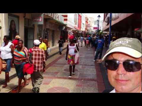 Nick Lido in Barbados / Bridge Town
