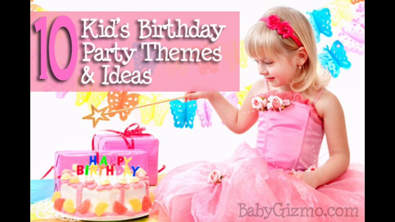 Little Kid Birthday Party Little Girl Birthday Party Decoration