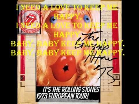 Happy The Rolling Stones Lyrics